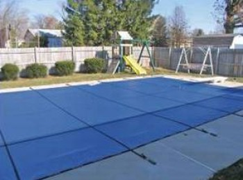 18 X 36 Ft Rectangle Mesh Safety Pool Cover For In Ground