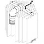 Sta-Rite 23900-1220S D.E. filter manifold for S7D75