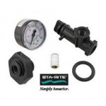 Sta-Rite 24850-0105 valve and gauge assembly for System 3 SD DE and SM cartridge
