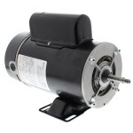 BN37 A.O. Smith 1 HP 2 speed thru bolt pump motor