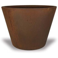 Set of 3 Round Tapered Concrete Pots