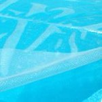 12 x 24 ft Rectangle Clear Solar Pool Cover 12 mil 5/2 yr Warranty