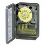 T101R201 Intermatic timer w/ heater protection 110v metal indoor-outdoor enclosure