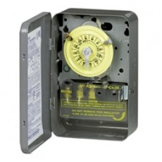 T104R201 Intermatic timer w/ heater protection 220v metal indoor-outdoor enclosure