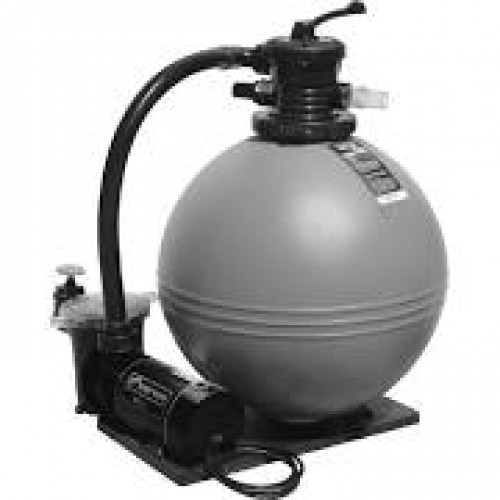 Waterway 19 Inch Sand Filter W  1 0 Hp Single Speed Pump