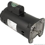 B2843 A.O. Smith 2 HP threaded full rated energy efficient pool pump motor