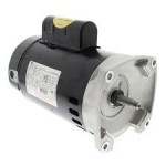 B2853 A.O. Smith 1 HP threaded up rated pool pump motor