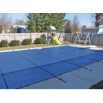 14 x 28 ft Rectangle Mesh In Ground Safety Pool Cover 12/3 Warranty