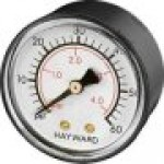 Hayward Star-Clear C250, C500, C750 Series Filter Pressure gauge part number ecx27091