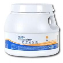 3 inch trichlor chlorine tabs - KemTek 3 lbs