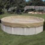15 x 30 ft Oval Solid Above Ground Pool Winter Pool Cover 20/3 Warranty