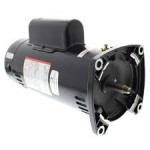 USQ1252 A.O. Smith 2.5 HP up-rated square flange pump motor