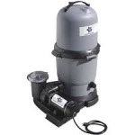 Waterway BlueStar 75 sq ft filter/1.0 hp 2 speed pump above ground pool cartridge combo